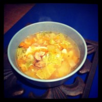 Healthy Chicken & Vegetable Soup