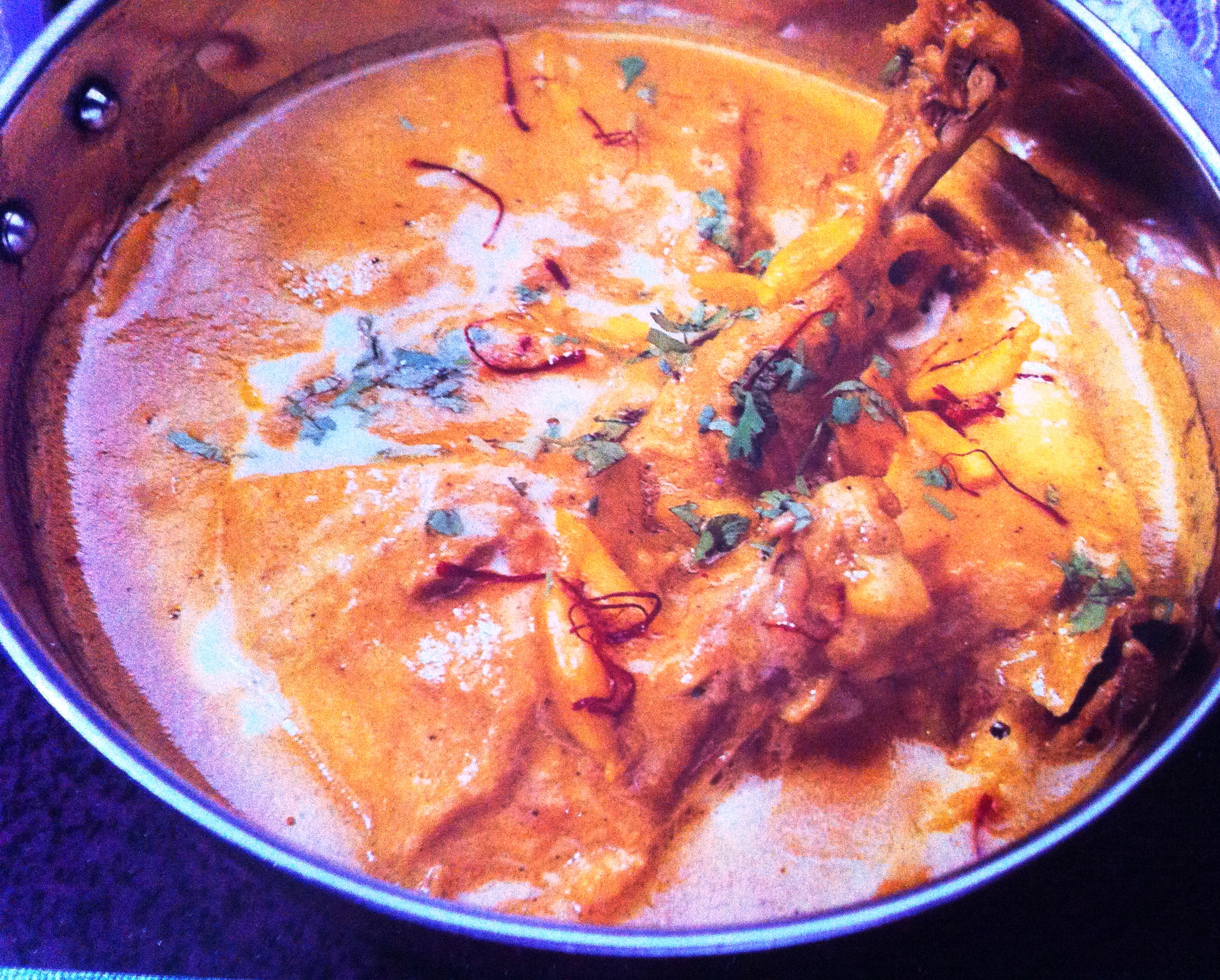 how to make korma chicken