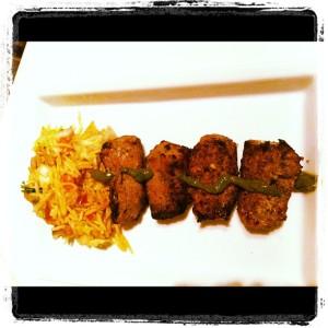 Bengali Sheekh kebab