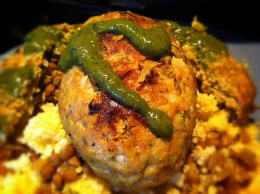 Image of kofta stuffed with lentils and onions
