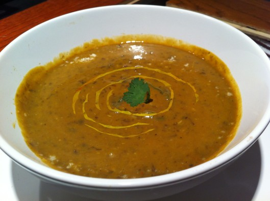 Image of Black bean & squash soup with cilantro