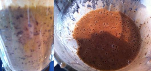 consistency of the puree should be similar to the picture
