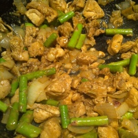 Ginger Chicken with Asparagus