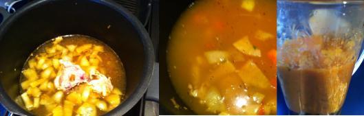 Chicken broth from scratch
