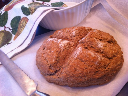 Image of Oregano & sea salt old fashioned bread