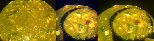 image of Chinese Brocoli & Mushroom Soup with Chunky Tofu