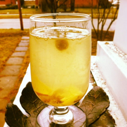 Spiced Ginger Tea (Good for sore throats) | Yummyfoodmadeeasy
