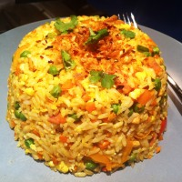 Chicken & Bacon Egg Fried Rice