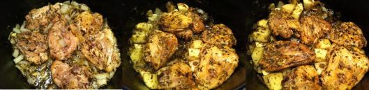 Chicken in herbs