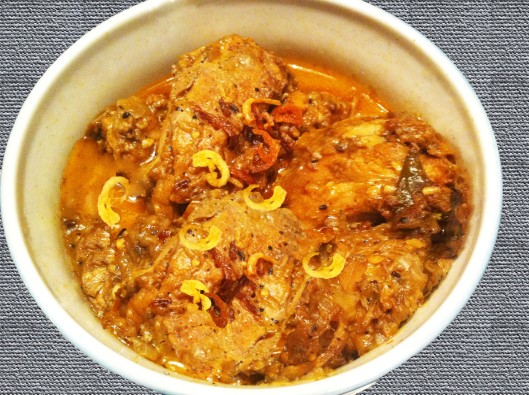 Chicken curry with panch Phoron