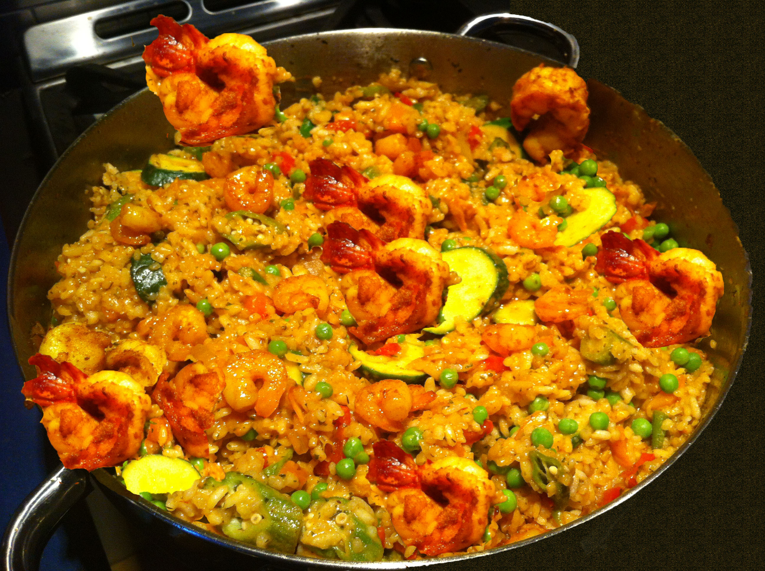 Easy chicken shrimp paella recipe – Food blog