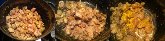 Mutton curry being cooked